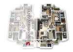 m-i-rustle-court_3bhk-with-servant-flat-floor-plan